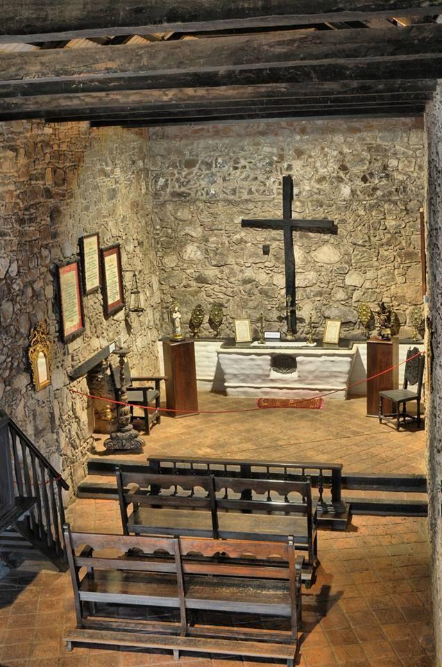 Capilla de estancia Jesuitica en Caroya, provincia de Cordoba, Argentina