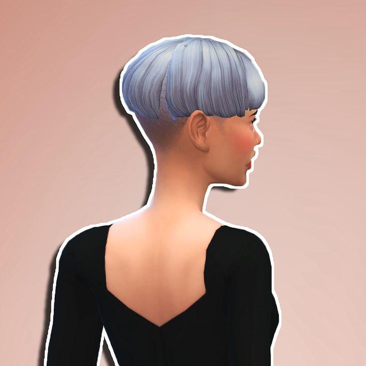 how to dye or cut hair sims 3