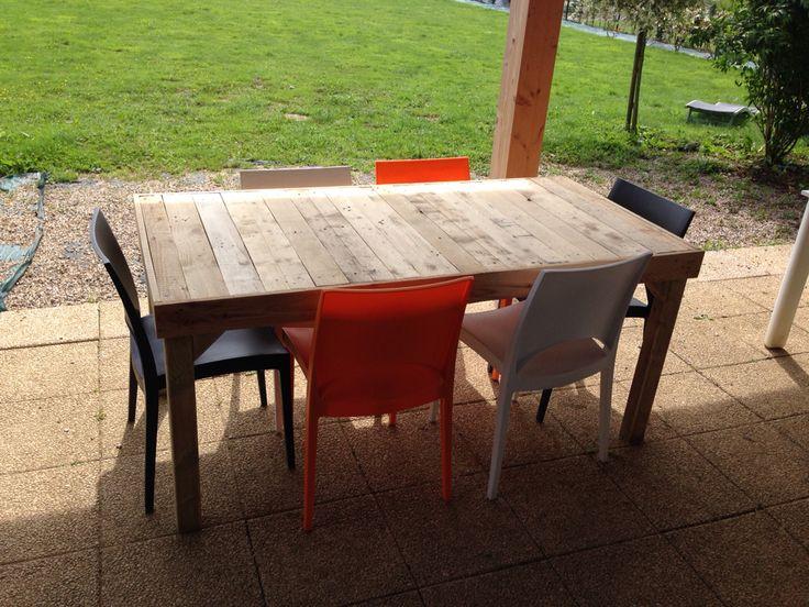 Table en bois de palettes