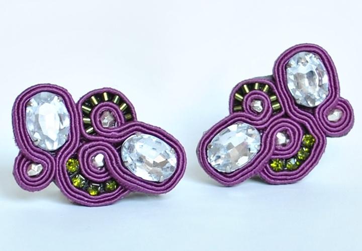 earrings orecchini jewels gioielli GRAPES edef jewels #earrings #orecchini #jewels #gioielli   http://edefjewels.blogspot.it/2013/01/purple-like-grapes.html