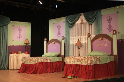 Post image for Peter Pan Set Design by Jeanne Benedict