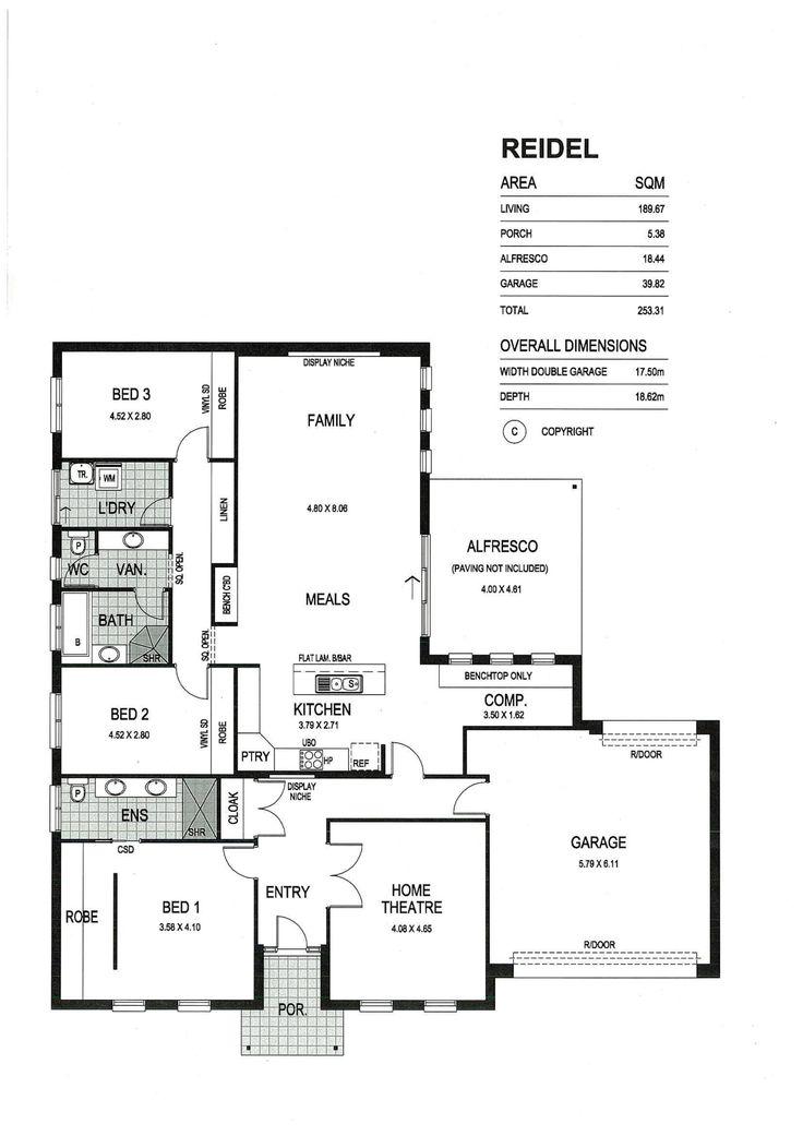 Fairmont homes floor plans adelaide floor matttroy for Sa house plans