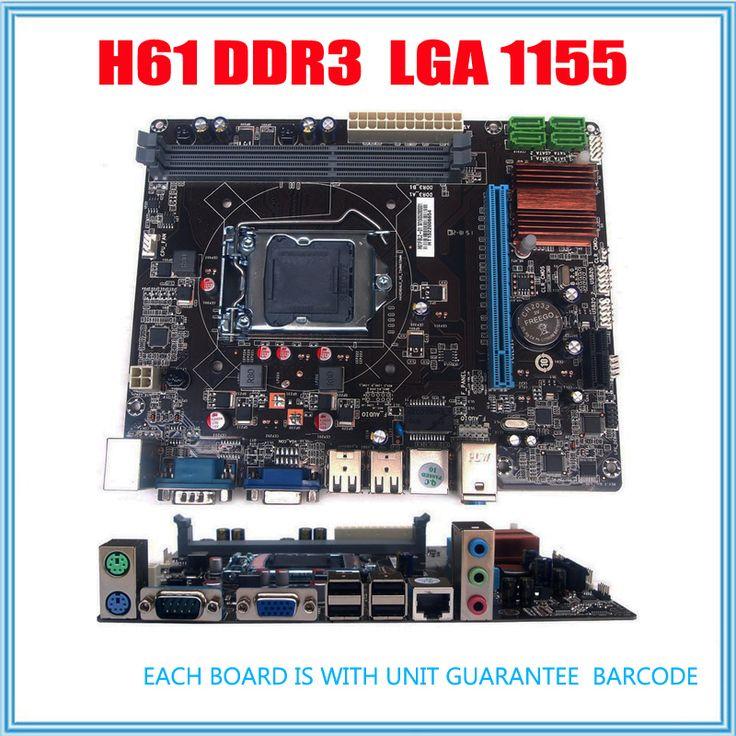 NUEVA Micro-atx DDR3 LGA1155 H61 Placa Base