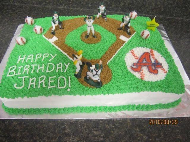 Baseball cake for Dylan's birthday???