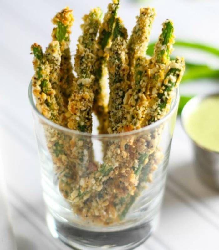 Frites de haricots verts - Des frites de légumes légères pour les beaux jours - Elle à Table