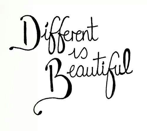 Different is beautiful... http://www.resilientapp.com