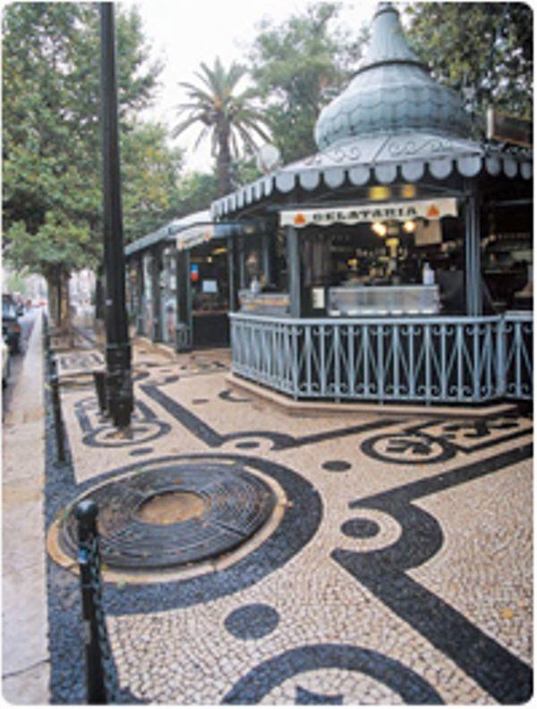 Quiosque na Av. da Liberdade - Lisboa