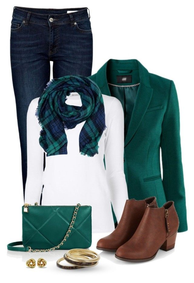 Navy Blue and Hunter Green by snickersmother on Polyvore featuring polyvore, fashion, style, T By Alexander Wang, Chicnova Fashion, Anine Bing, Talbots, Michael Kors and clothing