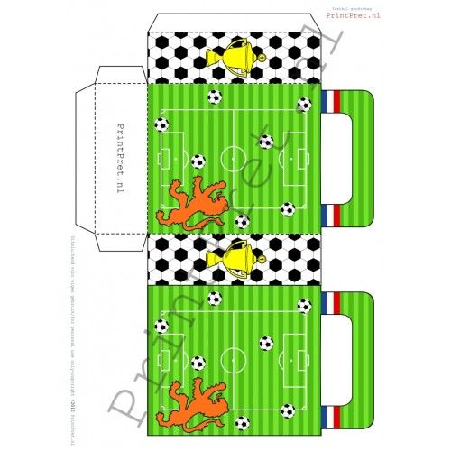 Voetbal goodiebag