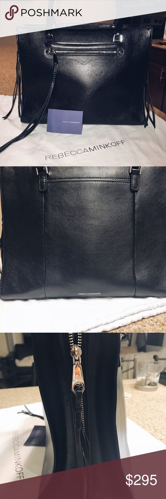 Authentic Rebecca Minkcoff Over the Shoulder Bag Light used, perfect condition Rebecca Minkcoff over the shoulder bag. Medium size. Authentication card and dust bag included. Rebecca Minkoff Bags Shoulder Bags
