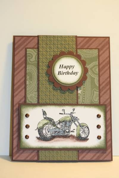 SC283 Motorcycle by sn0wflakes - Cards and Paper Crafts at Splitcoaststampers
