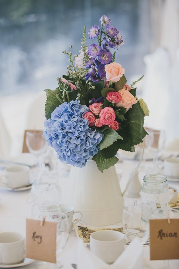 Pretty Pastel Wedding In Wales