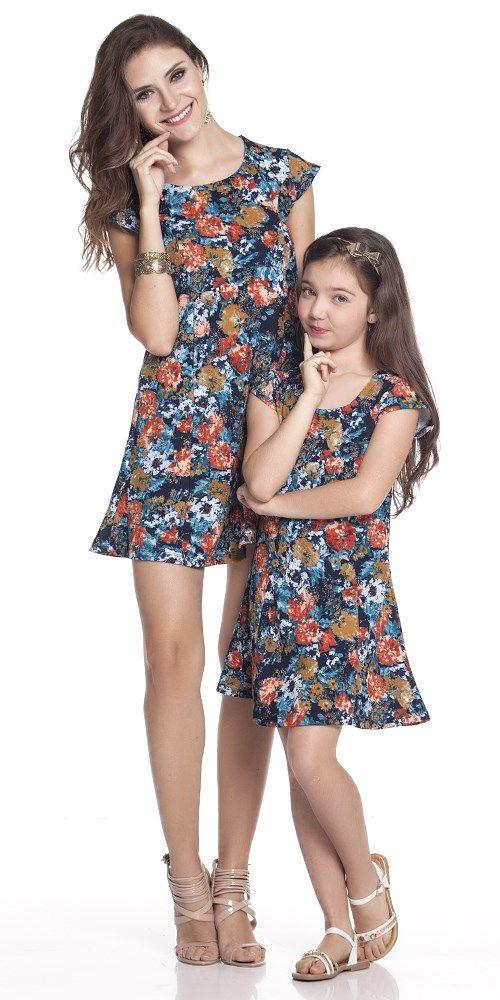 Vestido Jacquard Floral Adulto | OLIVIAS TAL MÃE TAL FILHA | Olivias