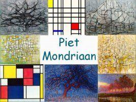 Leuke en informatieve powerpoint over Piet Mondriaan voor 5, deze en nog vele andere kun je downloaden op de website van Juf Milou.