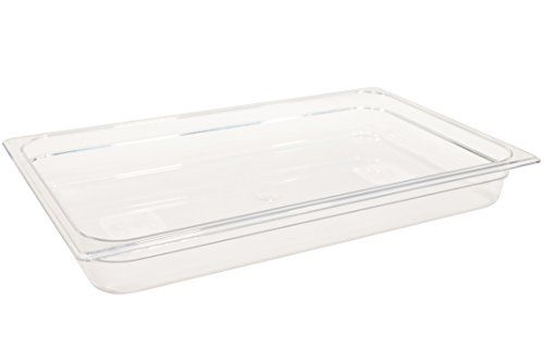 Rubbermaid Commercial Products Cold Food Pan 212 Deep Pan Full Size Clear FG130P00CLR  * Read more at the image link.