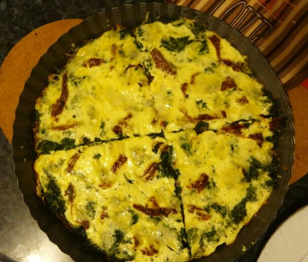 #quiche #vegetarian #glutenfree