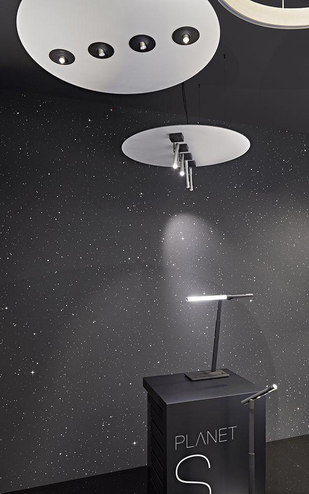 ceiling: Sintesi spotlights   table: Sintesi sidelight   floor: Sintesi zoom lettura
