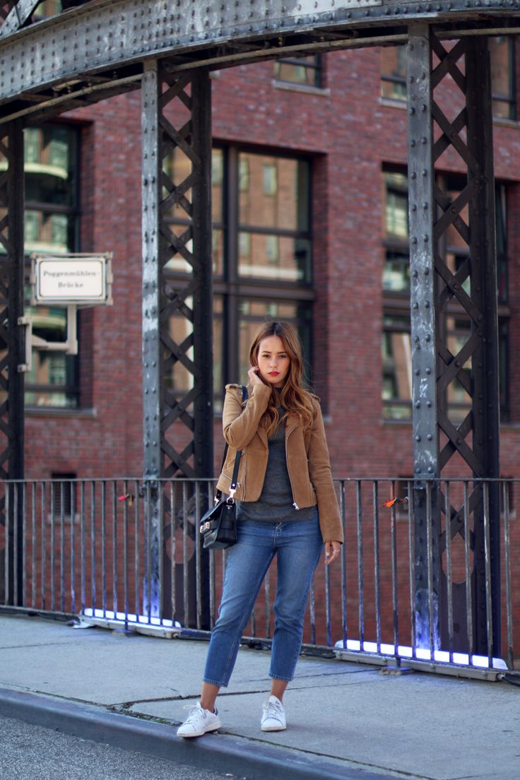 teetharejade » Blog Archive » Outfit: The Suede Leather Jacket