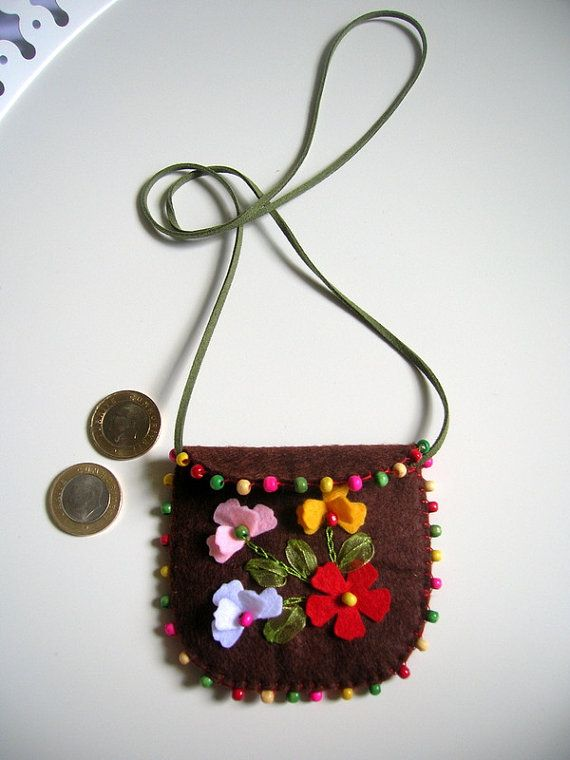 Pouch Necklace  you have a message  by NurayAytac on Etsy, $20.00