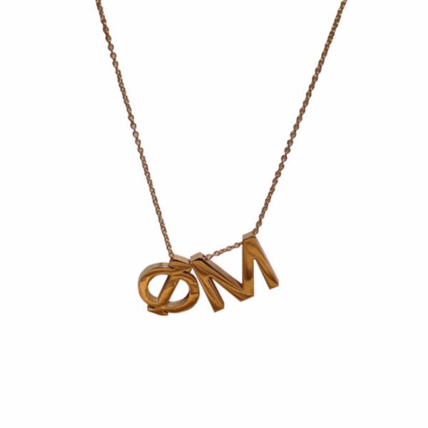 Phi Mu Letter Necklace from EVER ROW. get yours for 30% now through November 30 with code FRIENDSHANNON @everrow @phimufraternity #everrow #sorority #sororityjewelry #phimu #promo #sale