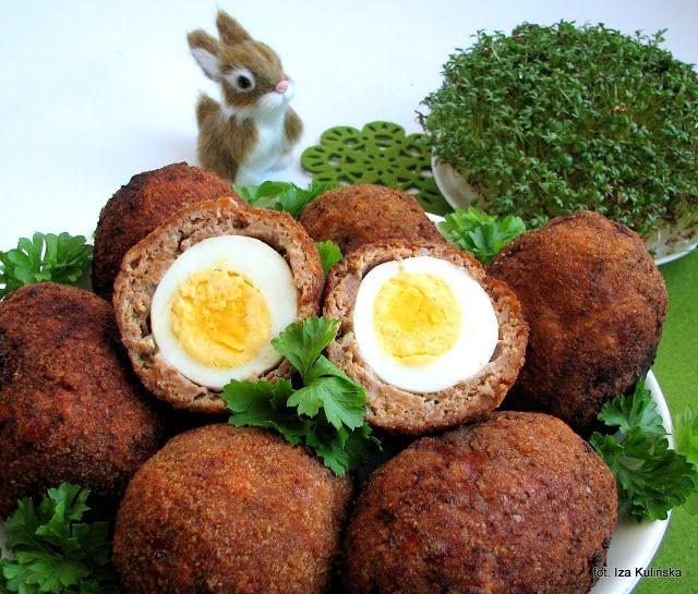 Smaczna Pyza: Jaskółcze gniazda vel jajka po szkocku