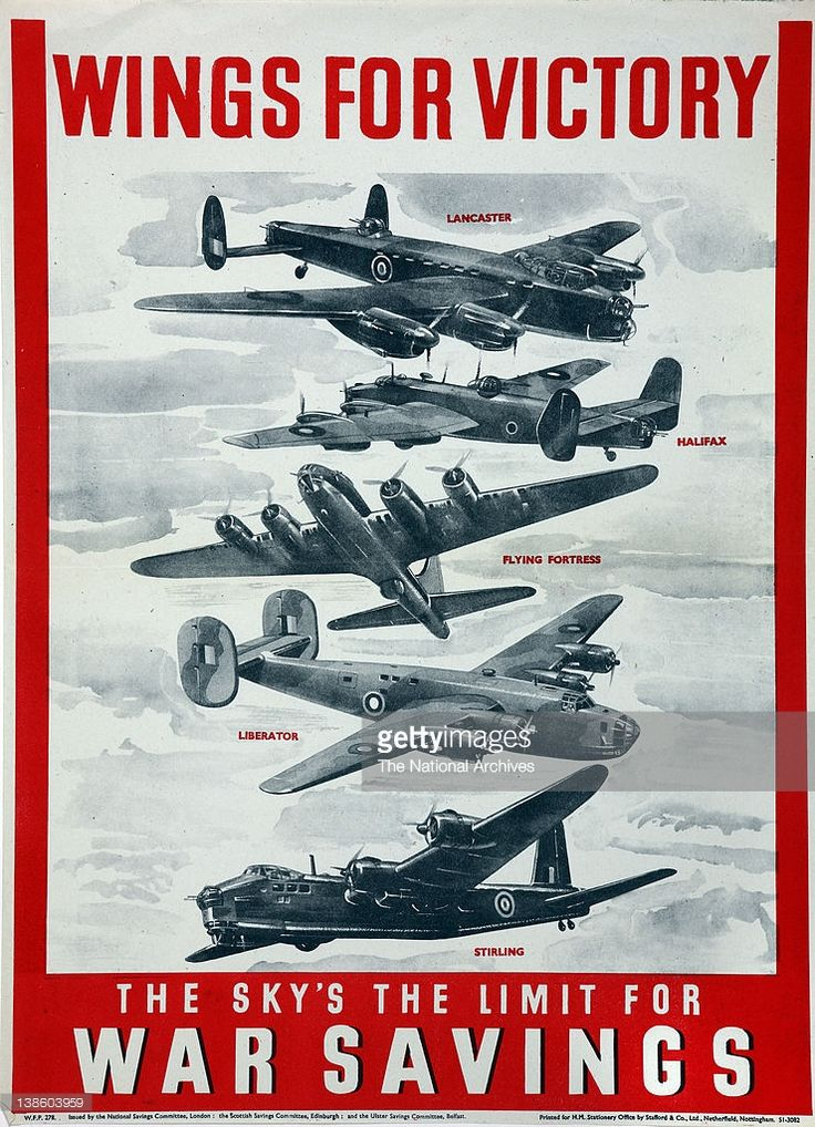 Wings for Victory-the sky's the limit (Bombers) 1943