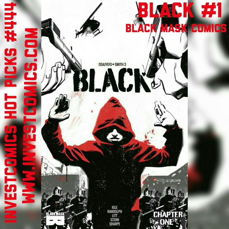 New InvestComics Hot Picks now up. New comics arriving on 10/5. Black Mask Comics does it again! Black #1.Check out all of our picks on the website. #InvestComics #blacklivesmatter #comicbooks #comics #comic #newcomics #newarrivals #NewComicBookWednesday #newcomicbooks #blackmaskcomics