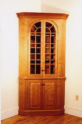 Amazing High Style Corner Cabinet