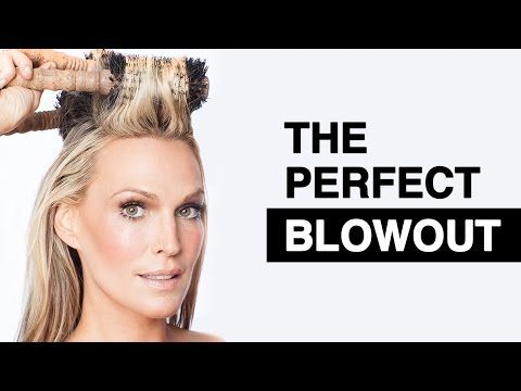 DIY Salon Quality Blowout on Long Hair in just 15 minutes. how to and Step by Step - YouTube