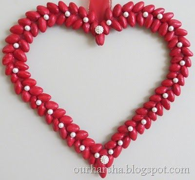 Recycled Craft:: 3D Pista Shell Heart