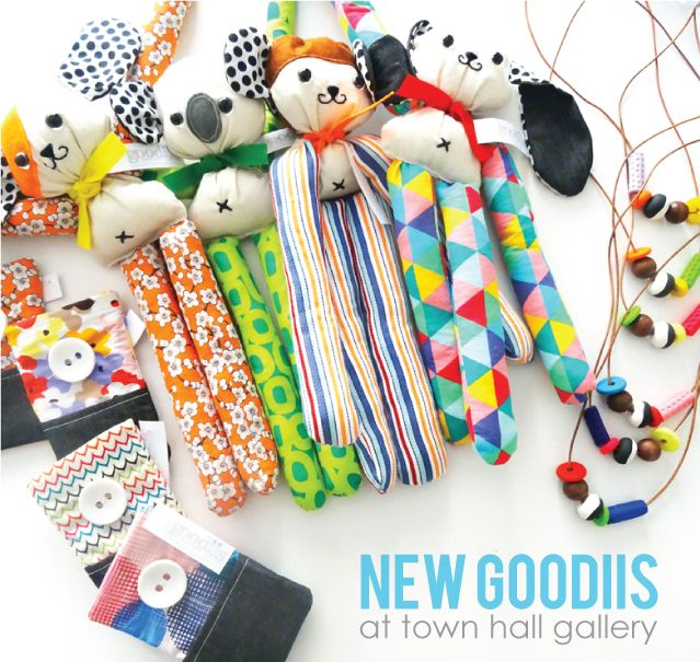 NEW Goodiis in-store at Town Hall Gallery. http://www.townhallgallery.com.au/ www..goodiis/com