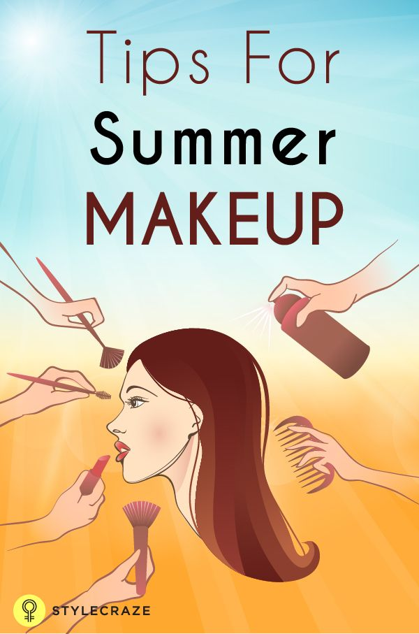 Summer Makeup Tutorial - With Detailed Steps & Pictures