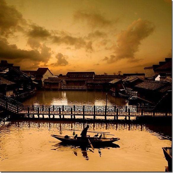Xishi River Chinas Zhejiang Province 4eyesphoto City PhotographyLandscape