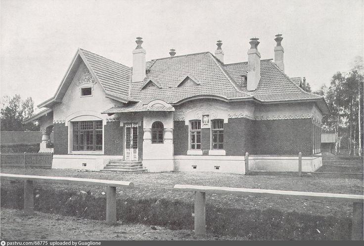 Дом начальника участка тяги на станции Лихоборы