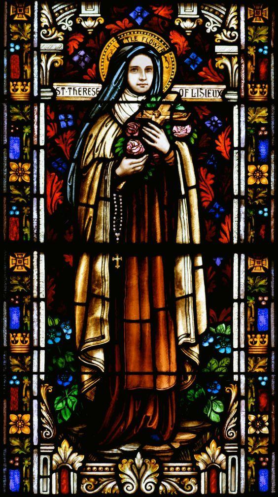 Santa Teresa de Lisieux. Santa Teresinha do Menino Jesus e da Sagrada Face.