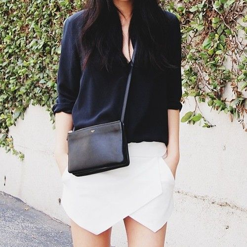 Love this look. Modern classic.