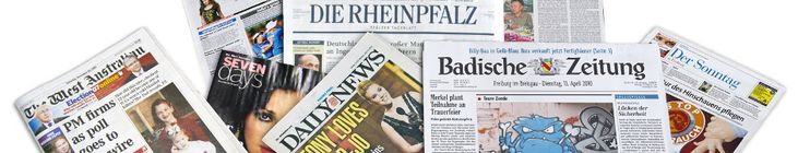 German Newspapers : Deutsche Zeitungen : Newspapers from Germany : German News : Europe