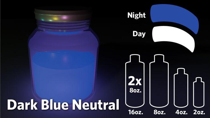 dark blue glow in the dark paint. Black Bedroom Furniture Sets. Home Design Ideas