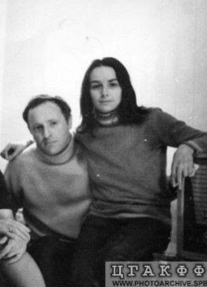 С Марией Слоним, 1970-1972 гг.