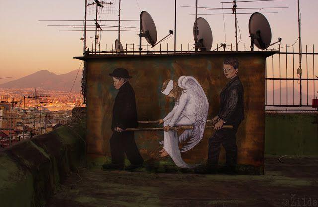 """""""The Wounded Angel"""", Hugo Simberg"""