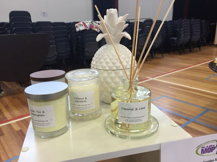 Candles & Diffuser Range