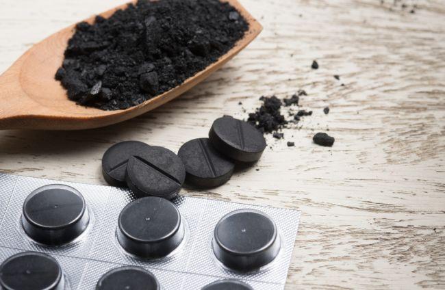 Sedem využití aktívneho uhlia
