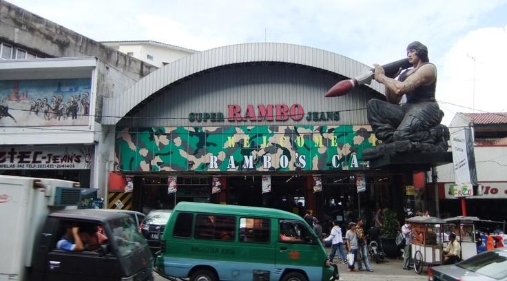 Jalan Cihampelas or Jeans Street #Bandung West Java