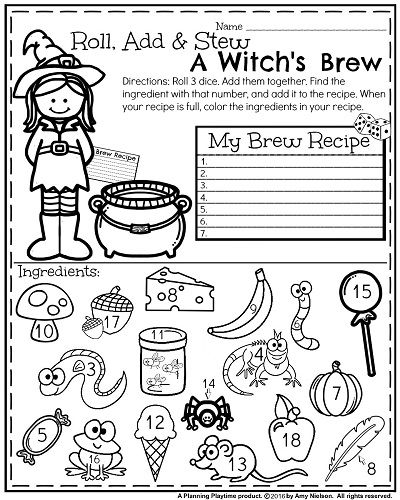 October First Grade Worksheets   Stew, First grade math ...