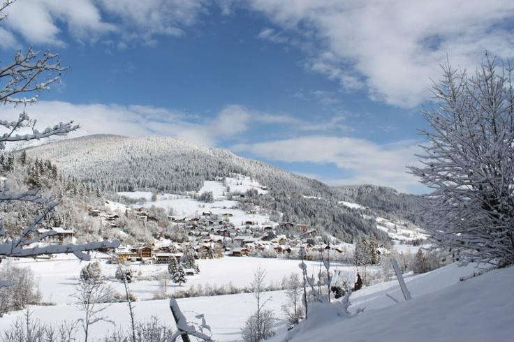 Schneevergnügen abseits der Pisten.  http://www.badkleinkirchheim.at/winterurlaub-kaernten