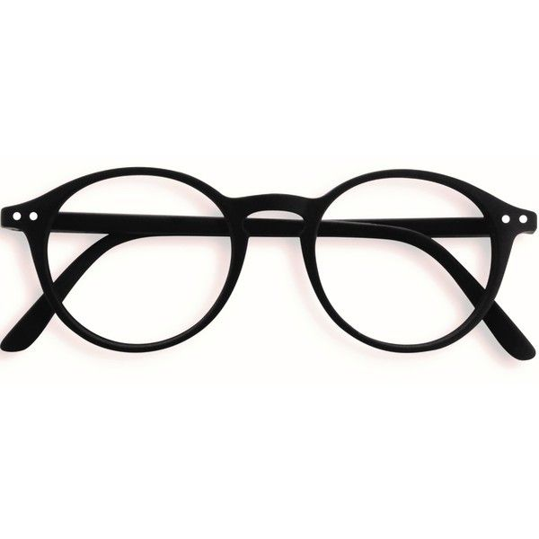 Stylish Izipizi Black Rounded Reading Glasses ($33) ❤ liked on Polyvore featuring accessories, eyewear, eyeglasses, rounded glasses, reading glasses, round eye glasses, round eyewear and round eyeglasses
