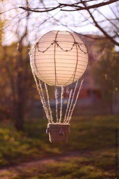 """Украшение для интерьера """"Воздушный шар"""". Handmade."""
