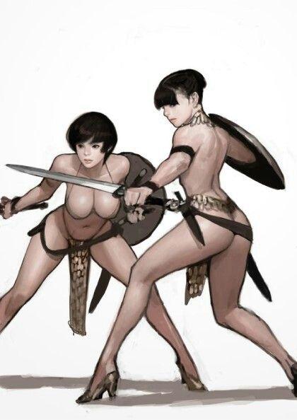 Art by Kimbum Korean illustrator