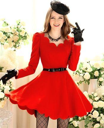 elegant little red dress, $90.00 at Aoisos