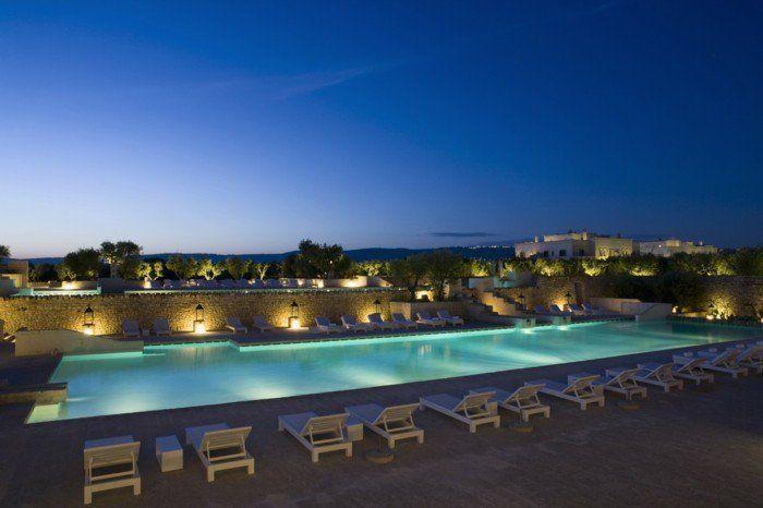 Luxus pool im garten  luxus pool gute idee für einen pool für garten   Luxuriöse Designs ...